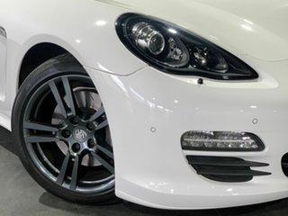 2012 Porsche Panamera 970 MY12 PDK White 7 Speed Sports Automatic Dual Clutch Sedan.