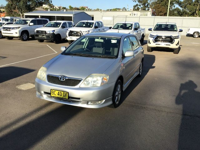 Used Toyota Corolla ZZE122R Levin, 2001 Toyota Corolla ZZE122R Levin Silver 4 Speed Automatic Hatchback