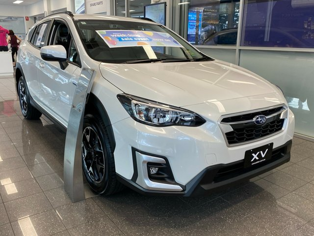 New Subaru XV G5X MY20 Hybrid Lineartronic AWD, 2020 Subaru XV G5X MY20 Hybrid Lineartronic AWD Crystal White 7 Speed Constant Variable Wagon Hybrid