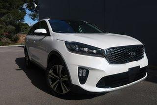 2019 Kia Sorento UM MY19 GT-Line AWD White 8 Speed Sports Automatic Wagon.