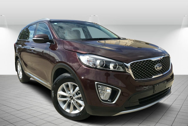 Used Kia Sorento UM MY16 Si AWD, 2016 Kia Sorento UM MY16 Si AWD Maroon 6 Speed Sports Automatic Wagon