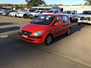 2010 Hyundai Getz TB MY09 S Red 5 Speed Manual Hatchback.