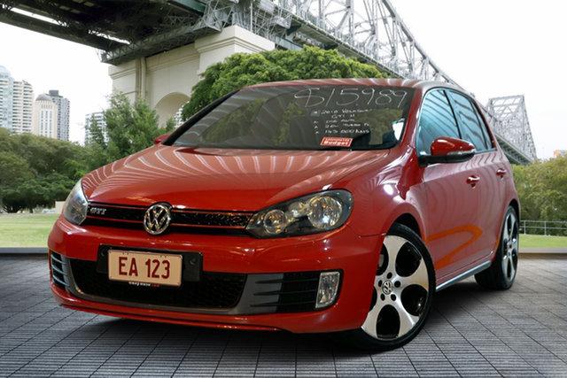 Used Volkswagen Golf VI MY10 GTI DSG, 2010 Volkswagen Golf VI MY10 GTI DSG Red 6 Speed Sports Automatic Dual Clutch Hatchback