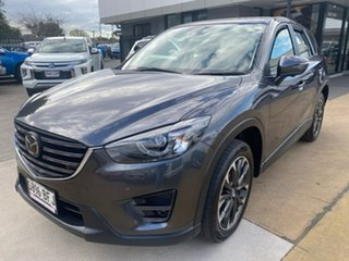 2015 Mazda CX-5 KE1022 Akera SKYACTIV-Drive AWD Grey 6 Speed Sports Automatic Wagon
