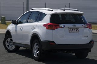 2015 Toyota RAV4 ZSA42R MY14 Upgrade GX (2WD) White Continuous Variable Wagon.