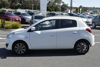 2017 Mitsubishi Mirage LA MY18 LS White 1 Speed Constant Variable Hatchback