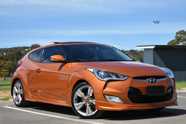Used Hyundai Veloster FS2 Coupe D-CT St Marys, 2013 Hyundai Veloster FS2 Coupe D-CT Orange 6 Speed Sports Automatic Dual Clutch Hatchback