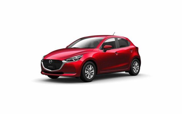 Demo Mazda 2 DJ2HAA G15 SKYACTIV-Drive Pure, 2020 Mazda 2 DJ2HAA G15 SKYACTIV-Drive Pure Soul Red Crystal 6 Speed Sports Automatic Hatchback