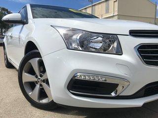 2016 Holden Cruze JH Series II MY16 Z-Series White 6 Speed Sports Automatic Sedan.