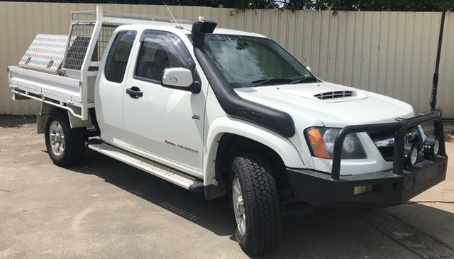Used Holden Colorado RC MY11 LX Space Cab, 2011 Holden Colorado RC MY11 LX Space Cab White 5 Speed Manual Cab Chassis