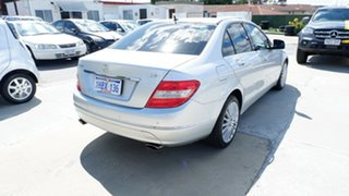 2009 Mercedes-Benz C-Class W204 C320 CDI Elegance Silver 7 Speed Sports Automatic Sedan