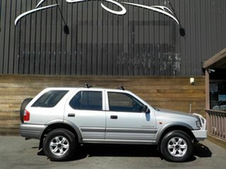 2002 Holden Frontera MX MY2002 S Silver 5 Speed Manual Wagon.