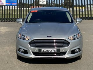 2016 Ford Mondeo MD Trend Silver 6 Speed Sports Automatic Hatchback.
