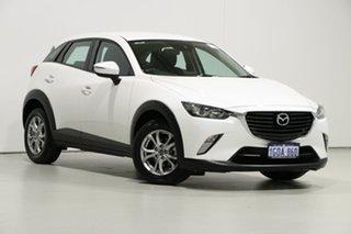 2018 Mazda CX-3 DK MY17.5 Maxx (AWD) White 6 Speed Automatic Wagon.