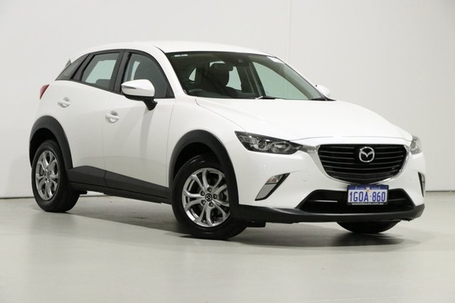 Used Mazda CX-3 DK MY17.5 Maxx (AWD), 2018 Mazda CX-3 DK MY17.5 Maxx (AWD) White 6 Speed Automatic Wagon