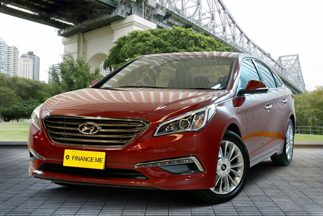Used Hyundai Sonata LF MY16 Elite, 2015 Hyundai Sonata LF MY16 Elite Red 6 Speed Sports Automatic Sedan