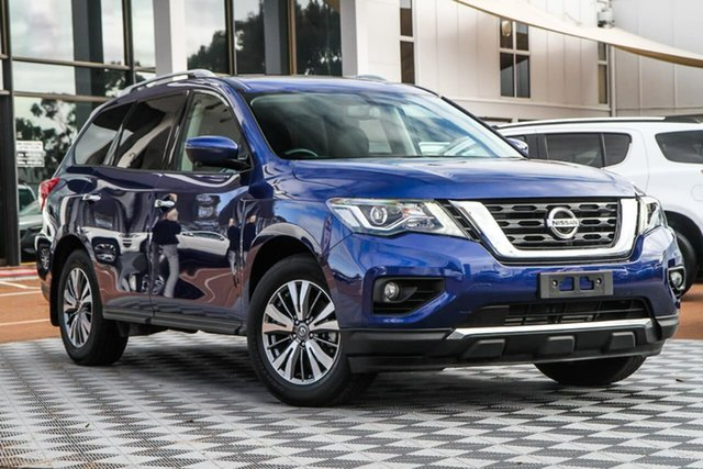 Used Nissan Pathfinder R52 Series III MY19 ST-L X-tronic 4WD, 2020 Nissan Pathfinder R52 Series III MY19 ST-L X-tronic 4WD Caspian Blue 1 Speed Constant Variable