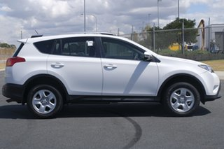 2015 Toyota RAV4 ZSA42R MY14 Upgrade GX (2WD) White Continuous Variable Wagon