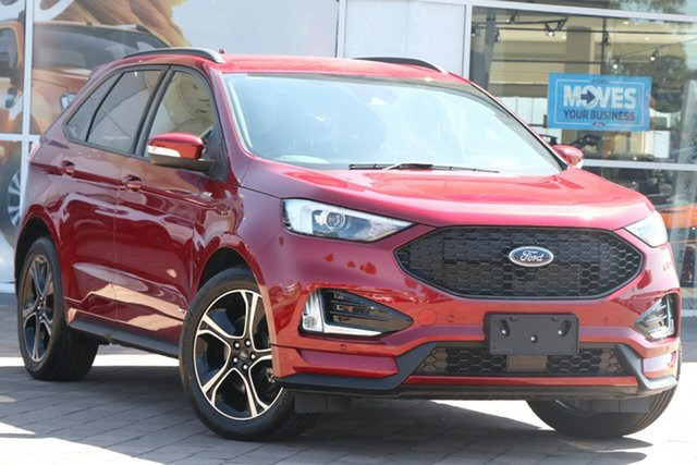 Used Ford Endura CA 2019MY ST-Line, 2019 Ford Endura CA 2019MY ST-Line Ruby Red 8 Speed Sports Automatic SUV
