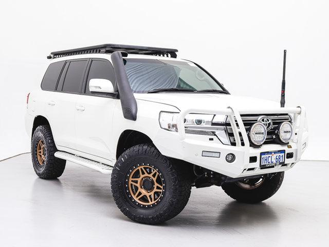 Used Toyota Landcruiser VDJ200R MY16 GXL (4x4), 2018 Toyota Landcruiser VDJ200R MY16 GXL (4x4) White 6 Speed Automatic Wagon