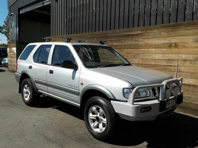 Used Holden Frontera MX MY2002 S, 2002 Holden Frontera MX MY2002 S Silver 5 Speed Manual Wagon