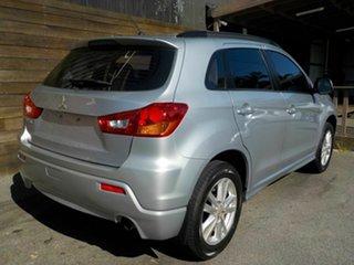 2012 Mitsubishi ASX XA MY12 2WD Silver 6 Speed Constant Variable Wagon.