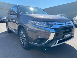 2019 Mitsubishi Outlander ZL MY20 ES AWD Brown 6 Speed Constant Variable Wagon.
