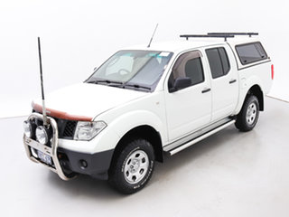 2006 Nissan Navara D40 RX (4x4) White 6 Speed Manual Dual Cab Pick-up