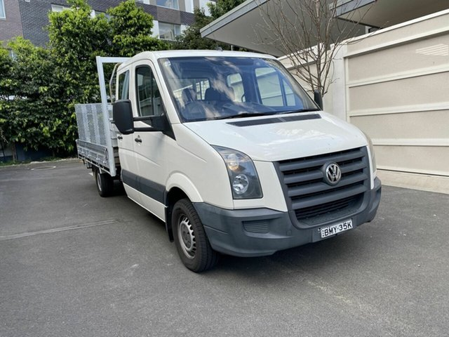 Used Volkswagen Crafter 2EF1 MY09 35 LWB, 2009 Volkswagen Crafter 2EF1 MY09 35 LWB White 6 Speed Manual Cab Chassis
