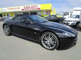 2010 Aston Martin V8 MY11 Vantage Black 6 Speed Seq Manual Auto-Clutch Roadster.