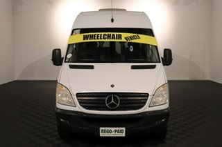 2011 Mercedes-Benz Sprinter NCV3 MY11 316CDI LWB White 5 speed Automatic Van.