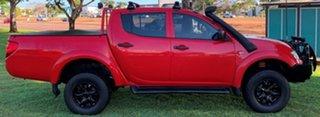 2014 Mitsubishi Triton MN MY15 GLX Double Cab Red 5 Speed Manual Utility.