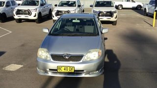 2001 Toyota Corolla ZZE122R Levin Silver 4 Speed Automatic Hatchback