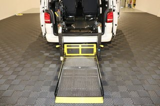 2014 Volkswagen Multivan T5 MY14 TDI340 DSG Comfortline White 7 speed Automatic Wagon.