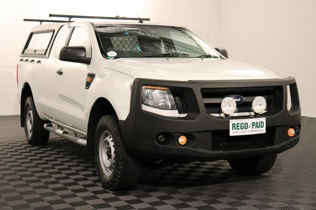 Used Ford Ranger PX XL, 2012 Ford Ranger PX XL White 6 speed Manual Utility