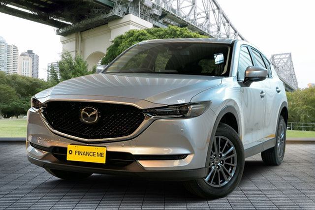 Used Mazda CX-5 KF4W2A Touring SKYACTIV-Drive i-ACTIV AWD, 2018 Mazda CX-5 KF4W2A Touring SKYACTIV-Drive i-ACTIV AWD Silver 6 Speed Sports Automatic Wagon