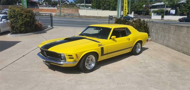 Used Ford Mustang  Grande, 1970 Ford Mustang Grande Yellow 3 Speed Automatic Coupe