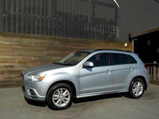 2012 Mitsubishi ASX XA MY12 2WD Silver 6 Speed Constant Variable Wagon