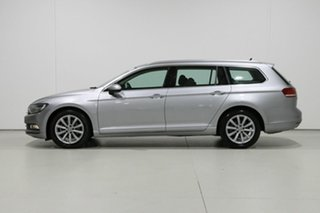 2018 Volkswagen Passat 3C MY18 132 TSI Comfortline Pyrite Silver 7 Speed Auto Direct Shift Wagon