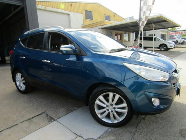 Used Hyundai ix35 LM MY11 Highlander AWD Moorooka, 2011 Hyundai ix35 LM MY11 Highlander AWD Blue 6 Speed Sports Automatic Wagon