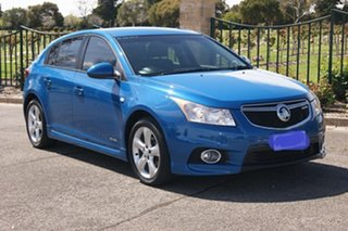 2013 Holden Cruze JH MY13 SRi Blue 6 Speed Automatic Hatchback.