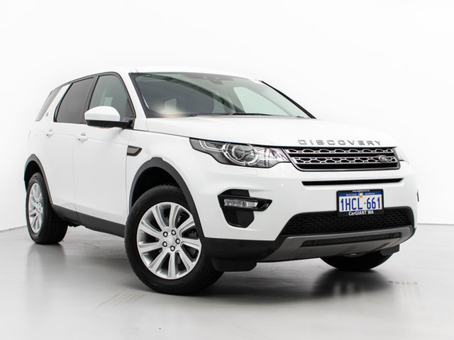 Used Land Rover Discovery Sport LC MY16 Td4 SE, 2016 Land Rover Discovery Sport LC MY16 Td4 SE Fuji White 9 Speed Automatic Wagon