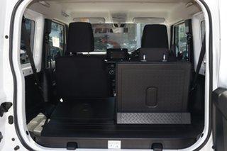 2018 Suzuki Jimny GJ White 5 Speed Manual 4x4 Wagon