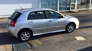 2001 Toyota Corolla ZZE122R Levin Silver 4 Speed Automatic Hatchback.