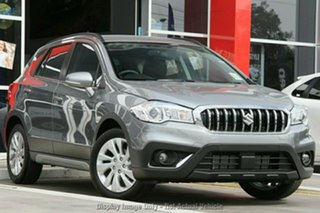 2019 Suzuki S-Cross JY Turbo Galactic Grey 6 Speed Sports Automatic Hatchback.
