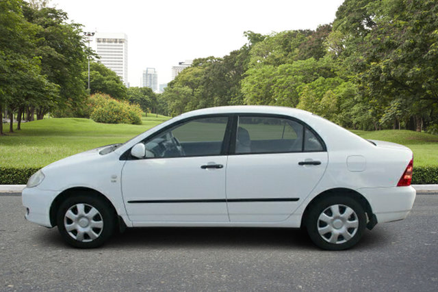 Used Toyota Corolla ZZE122R 5Y Ascent Murray Bridge, 2006 Toyota Corolla ZZE122R 5Y Ascent White 4 Speed Automatic Sedan