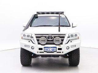 2018 Toyota Landcruiser VDJ200R MY16 GXL (4x4) White 6 Speed Automatic Wagon.