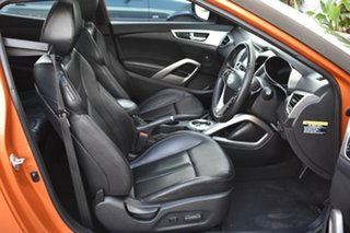 2013 Hyundai Veloster FS2 Coupe D-CT Orange 6 Speed Sports Automatic Dual Clutch Hatchback