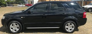 2006 Ford Territory SY Ghia AWD Black 6 Speed Sports Automatic Wagon.