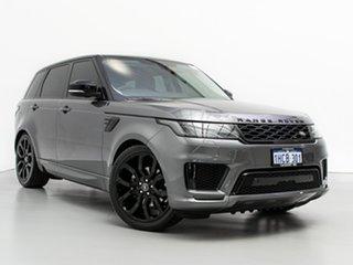 2018 Land Rover Range Rover LW MY19 Sport SDV6 SE (183kW) Grey 8 Speed Automatic Wagon.
